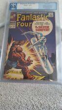 Fantastic Four #55 Comic Book, Pgx Graded 6.5 Fine Featuring Silver Surfer