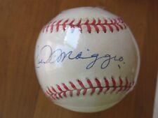 Joe DiMaggio Autographed Signed Baseball/Cube - Steiner /Yankee Clipper Holo LOA