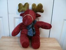Pier One Reindeer - Plush - Approx. 15' - Used - Made in the Philippines