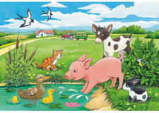 Ravensburger Baby Farm Animals 2 x 12 piece Jigsaw Puzzle