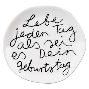 """DINING Mix & Match Teller klein """"Lebe jeden Tag"""" - Räder Design"""