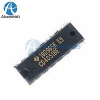 2PCS CD4051BE CD4051 DIP16 DIP-16 CD4051 Multiplexer/Demultiplexer