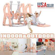 Sports Climber Toddler Kids Jungle Gym Slide Swing Set Indoor Outdoor Playgroun