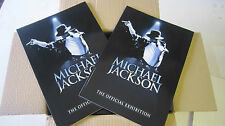 MICHAEL JACKSON THE OFFICIAL EXHIBITION PROGRAMME CAREER STORY FINAL CONCERT