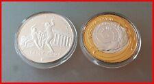Polen 2x 10 Złotych 2004 PP  PROOF  Olympische Sommerspiele 2004 Athen TOP !!!