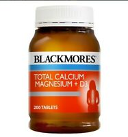 Blackmores Total Calcium & Magnesium + D3 200 Tablets