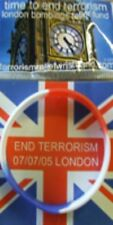 END TERRORISM Wristband support our troops help heroes