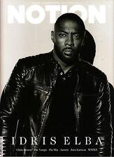NOTION Magazine #71 Idris Elba DELTA GOODREM Emma Laird SANG WOO KIM Mnek @New@