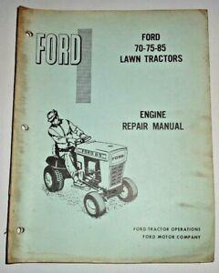 Ford 70 75 85 Lawn Tractor BRIGGS STRATTON ENGINE Service Repair Manual Original