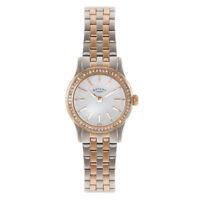 Rotary Women's Two tone Stainless Steel bracelet Quartz Watch LB02572/01S