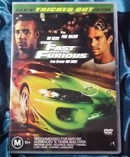 The Fast And The Furious (DVD, 2003) TRICKED OUT EDITION! Paul Walker Collector