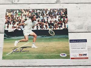 Rod Laver Signed Autographed 8x10 Tennis Photo PSA DNA COA a