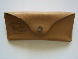 Vintage Ray-Ban Bausch & Lomb Aviator Sunglasses CASE ONLY with Green Letters