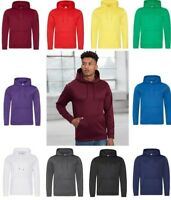 AWDis Men's Sports Polyester HOODIE With Front Pouch Pocket in Various Colours