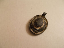 Antique Celtic Pendant with Glass Jewel