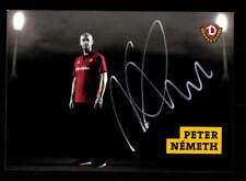Peter Nemeth Autogrammkarte Dynamo Dresden 2017-18 Original Signiert+A 176242