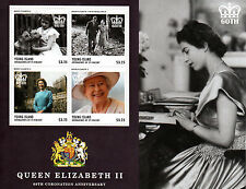 Young Island Gren St Vincent 2013 MNH Queen Elizabeth II Coronation 4v MS Stamps