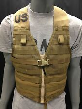 NEW US MILITARY COYOTE FIGHTING LOAD CARRIER FLC TACTICAL VEST MOLLE II