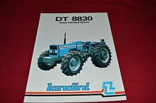 Landini DT 8830 Four Wheel Drive Tractor Dealers Brochure  LCOH