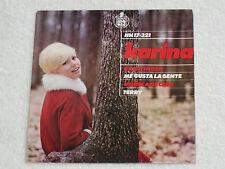 """KARINA MUÑECA DE CERA ORIGINAL SPANISH ORIGINAL ISSUE 60´S POP EP 7"""""""