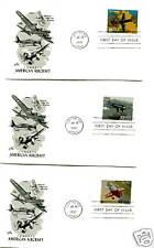 3142 Classic American Aircraft Artcraft 20 FDCs