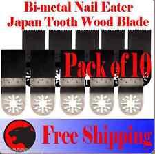 10 Oscillating Multitool Saw For Blade Ridgid Dremel Multi Max Ryobi Jobmax Fein