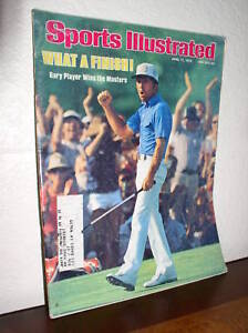 Sports Illustrated - April 17, 1978 - Gary Player