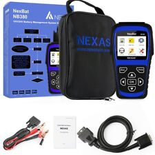 NEXAS NB380 Battery Test System Analyzer 100-2000CCA + BMS Reset With Database