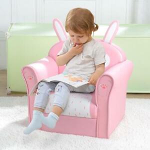 Soft Child Chair Armchair Single Sofa Seat Kids Girls Princess Chair Gift