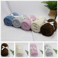 For Car Fleece Throw Washable Large Pet Blanket Soft Baby Dog Cat Warm Blankets