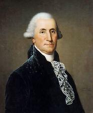 Oil painting adolph ulrich wertmuller - george washington American president art