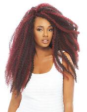 4 packs Janet Collection Noir Afro Kinky Twist Braid Hair Marley,Havana &Cuba 1B