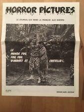 Horror Pictures numéro 3 (1975) - TBE