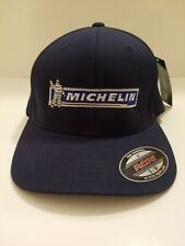 Michelin Embroidered Navy Blue Baseball Cap Flexfit S-M/New With Tags