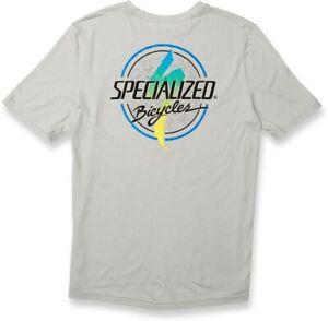 Specialized Boardwalk Standard T-Shirt (Stone Grey/Fade) Men's Small