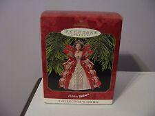 """Keepsake Hallmark Christmas Ornament """"Holiday Barbie"""" 1997"""