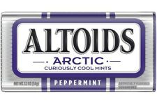 Altoids Arctic Peppermint Sugarfree Curiously Cool Mints 1.2 Oz.