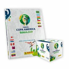 Panini Copa America 2019 Brasil Box + Empty Hard Cover Album