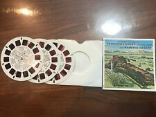 Petrified Forest Painted Desert View Master 3-pack of reels, A3651-3. 1979
