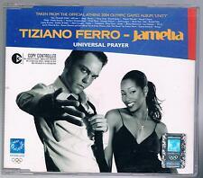 TIZIANO FERRO JAMELIA UNIVERSAL PRAYER CD SINGOLO SINGLE cds COME NUOVO