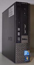 Dell OptiPlex 780 USFF Core 2 Duo E8400 3 GHz 160 GB de disco duro 4GB DDR3 Win 7 Pro Wifi