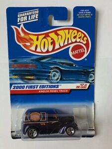Hot Wheels 2000 First Editions Anglia Panel Truck 17/36 in Series #077 MOP
