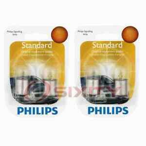 2 pc Philips Tail Light Bulbs for BMW 2002 2002ti 2002tii 2800CS 318i 318is cp