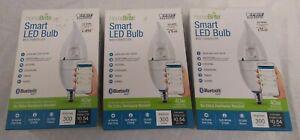 3ea Home Brite Smart LED Bulbs B10 Chandelier Brand New