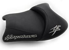 08-12-15-17-18 Hayabusa Custom Shaped/Covered Front Seat w/Chrome Embroidering!