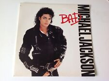 MICHAEL JACKSON - 1987 Vinyl 33rpm LP - BAD