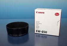 Canon EW-65II Gegenlichtblende Lens Hood pare soleil aufsteck clip on - (91205)