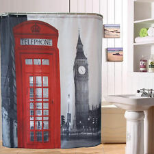 Unbranded Polyester Modern Shower Curtains