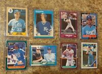 (8) Kevin Seitzer 1987 1988 Donruss Fleer Topps Score Rookie Card lot RC Royals