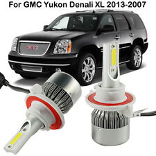 H13 9008 LED Headlight Kit Bulbs For GMC Yukon Denali XL 2013-2007 High Low Beam